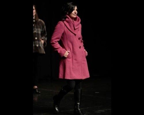 Cappotto rosa shocking