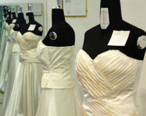 Confezionamento abiti da sposa