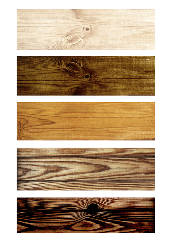 samples of laminate planks