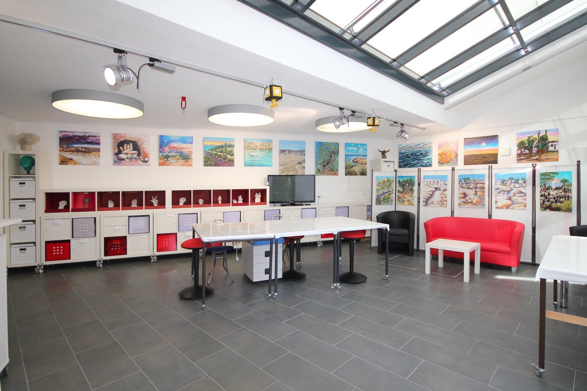 Kunstatelier, Galerie, augsburg, Malerei, Figuren, Beton, Keramik, Bronze