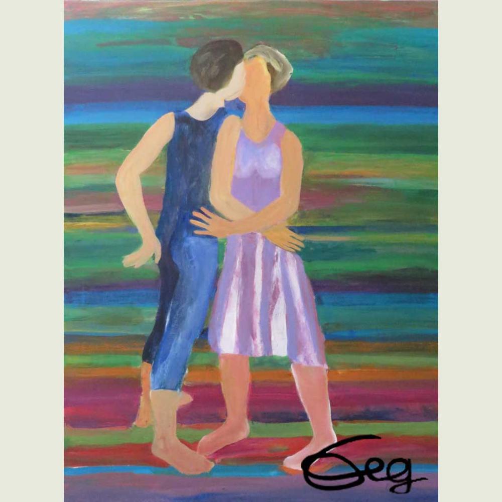 Bild, Tanz, Acryl, Leinwand, Bewegung, Leidenschaft