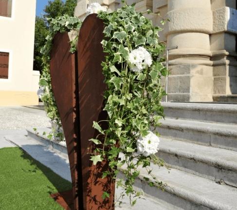 installazioni floreali cerimonia