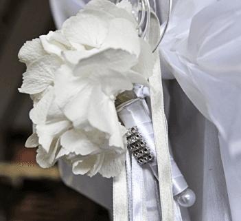 tessuto fiori e metallo