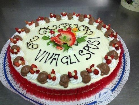 torta viva gli sposi