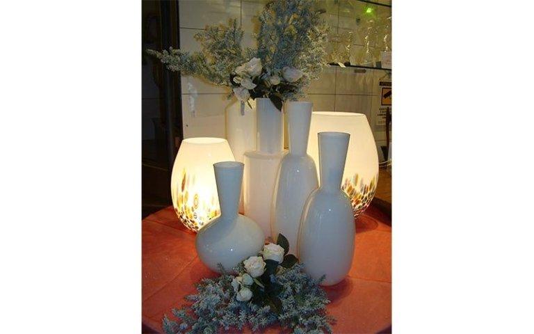 vasi e lampade di Murano