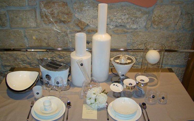 set piatti, posate - Franzinelli