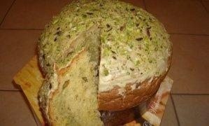 panettone al pistacchio