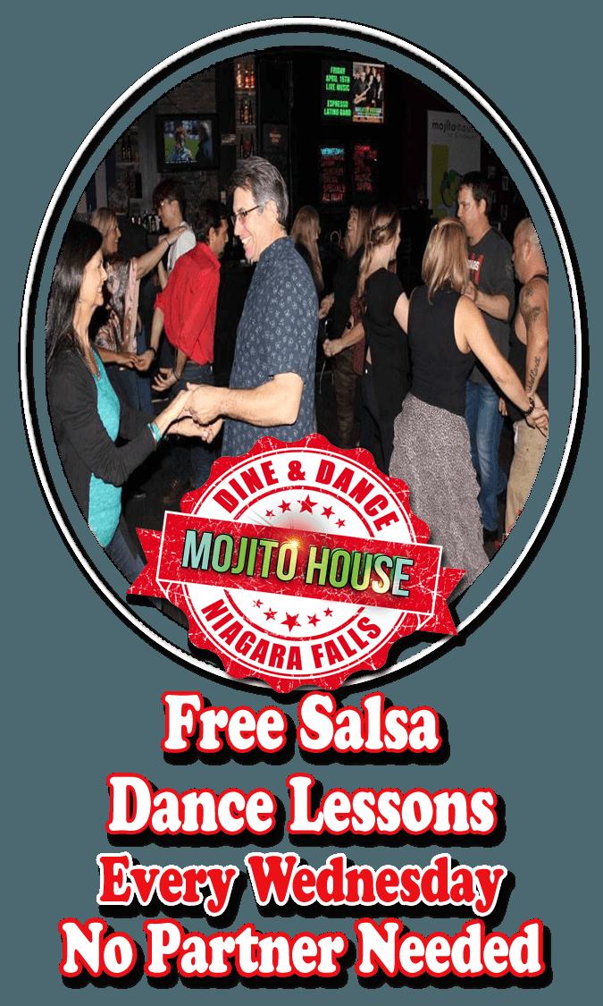 Salsa Dance Lessons, Mojito House, Niagara Falls