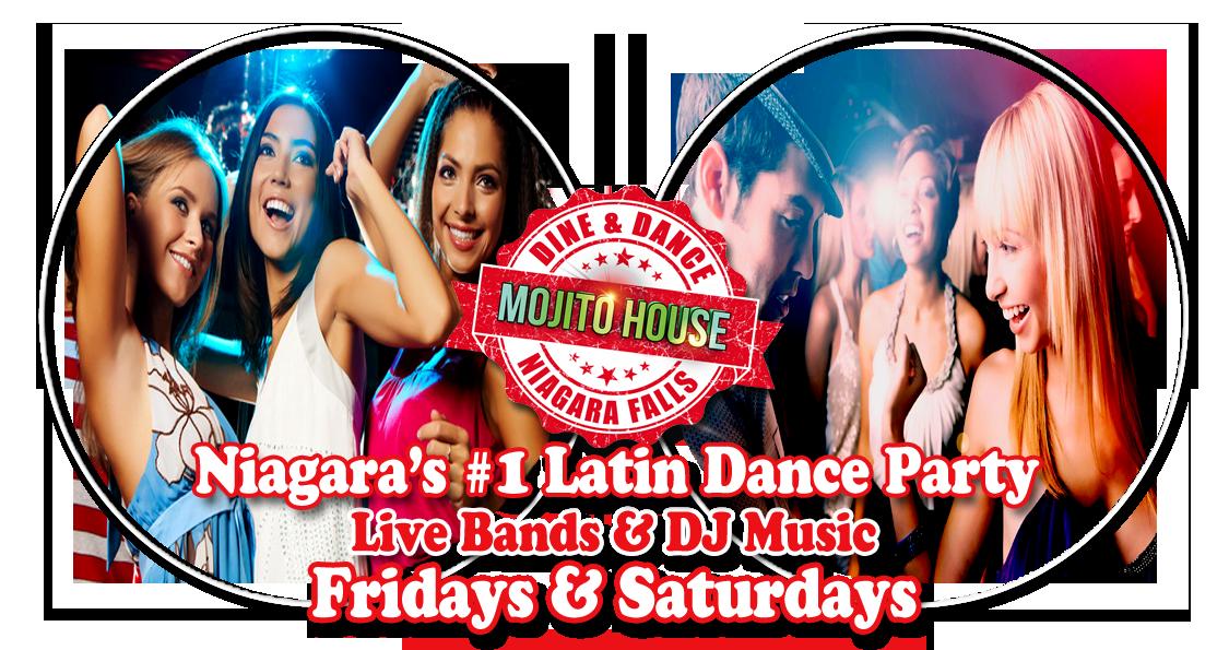 Latin Dance Niagara Falls, Salsa Dance, Mojito House