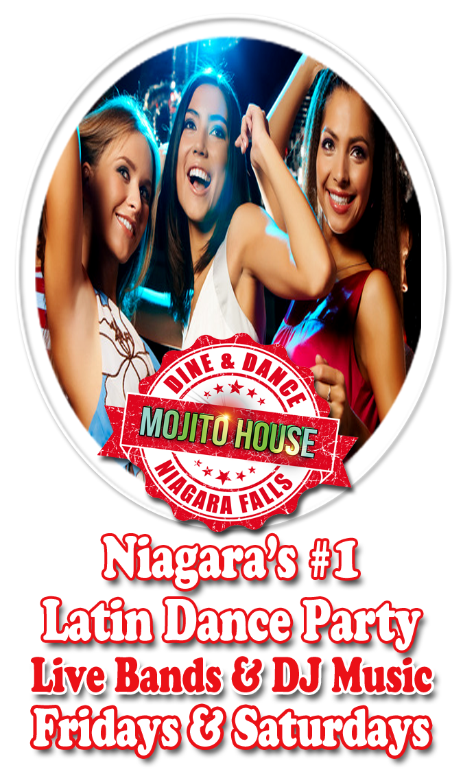 Latin Dance Club Niagara Falls, Salsa Dance, Mojito House