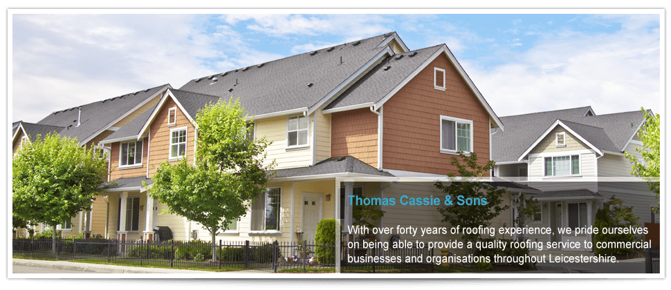 For roof repairs in Leicester call Thomas Cassie & Sons