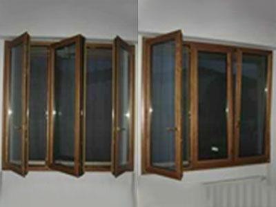 delle finestre in legno