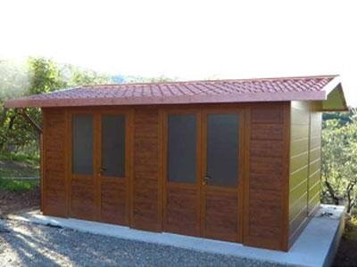 una casetta in legno