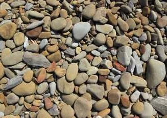 pebbles and rocks
