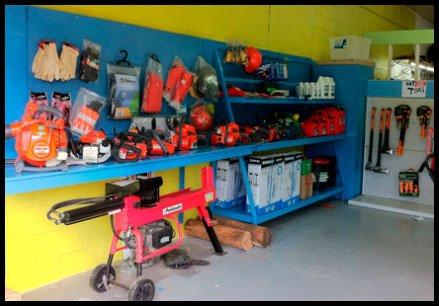 Craig's saw sharpening shop