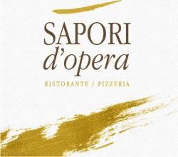 RISTORANTE PIZZERIA RICEVIMENTI SAPORI D'OPERA - LOGO