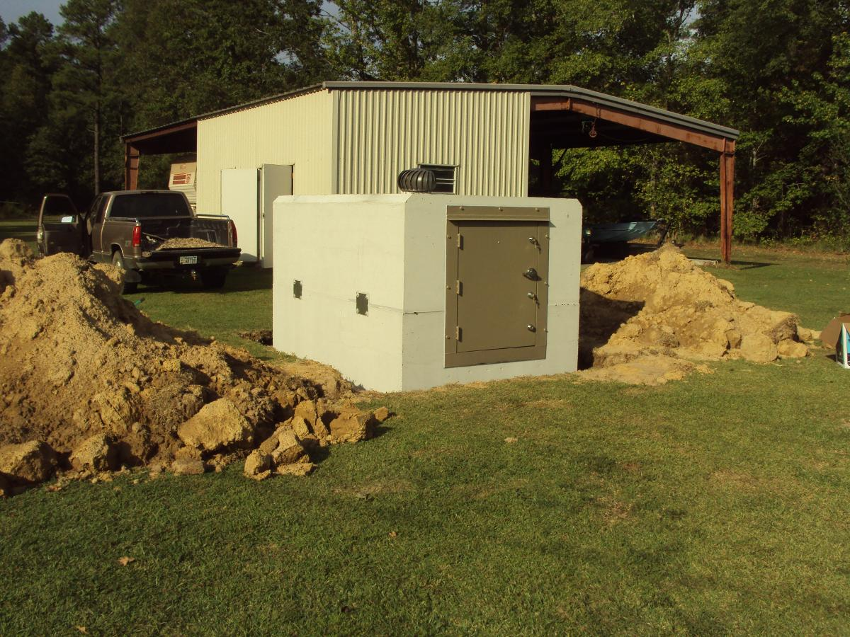 kuykendall cement commercial shelters and safe rooms in arkansas