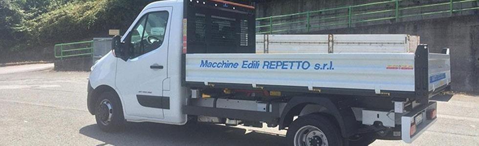 Macchine edili Repetto Genova