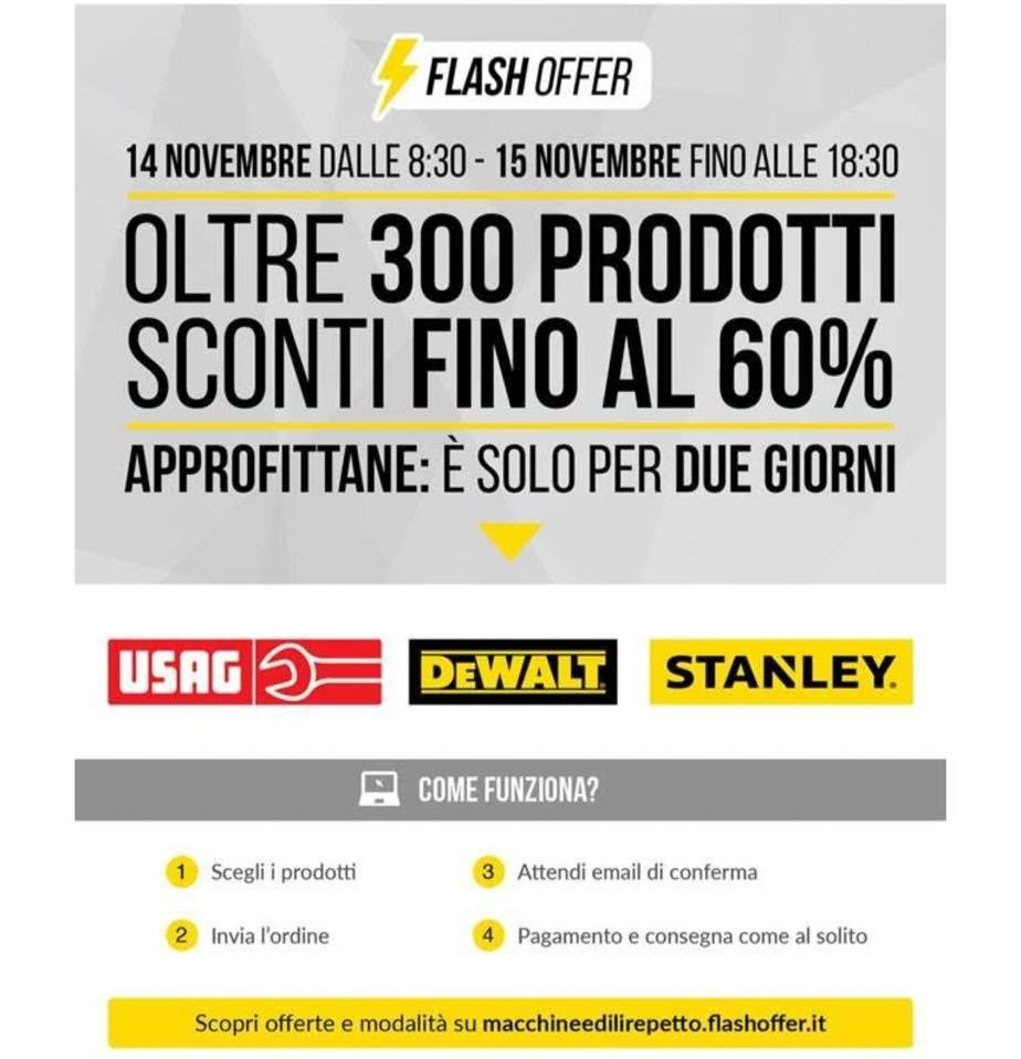flash offer