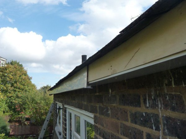 uPVC replacement work being carried out by All Roofing & Guttering