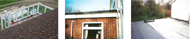 Concrete guttering by All Roofing & Guttering