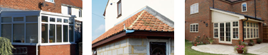 Conservatory roofs by All Roofing & Guttering