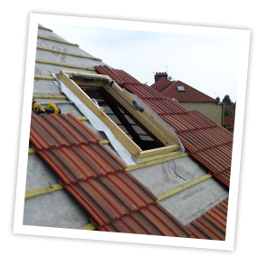 Velux skylights installed by All Roofing & Guttering