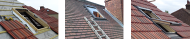 Velux skylights by All Roofing & Guttering