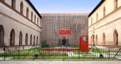 Scenografia evento Alfa Romeo