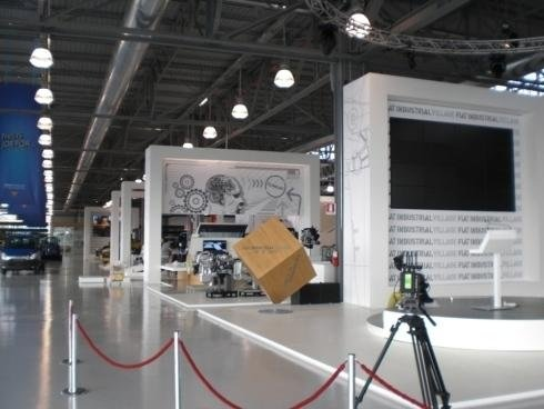 Allestimento stand Iveco Industrial Village