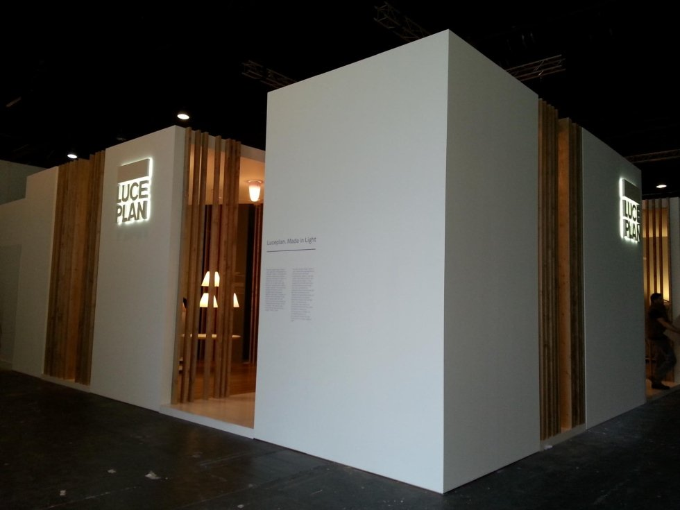 Luceplan - Francoforte Light+Building (exhibition)
