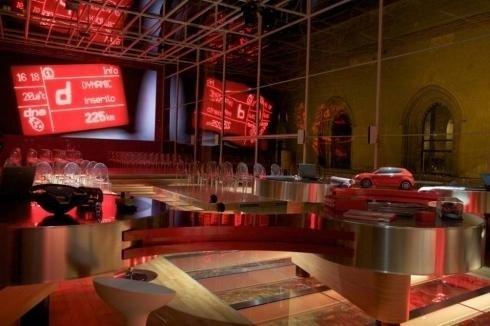 Scenografia convention Alfa Romeo
