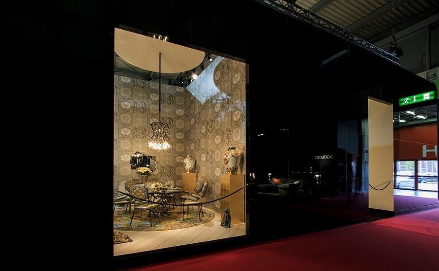 Versace Home - Milano Salone del Mobile (exhibition)