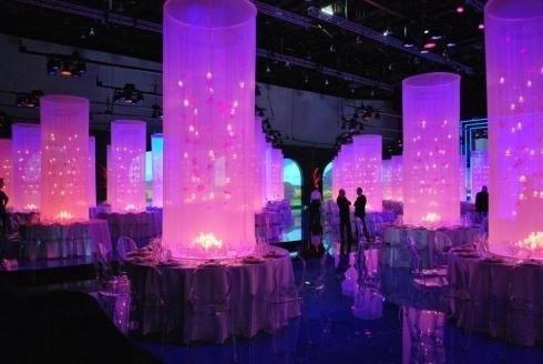 Allestimento spazi per cene di gala