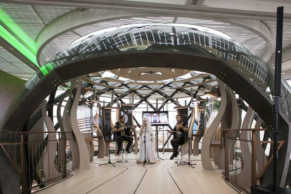 Padiglione Azerbaijan - Milano Expo 2015 (interior)