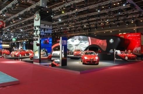 Progettazione padiglione Alfa Romeo