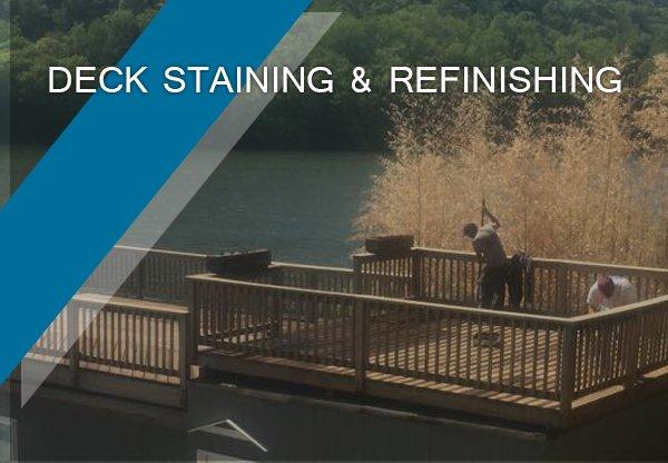 deck staining & refinishing Darien, CT