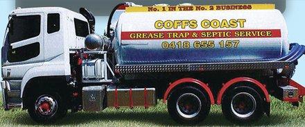 septicleen septic tank service truck