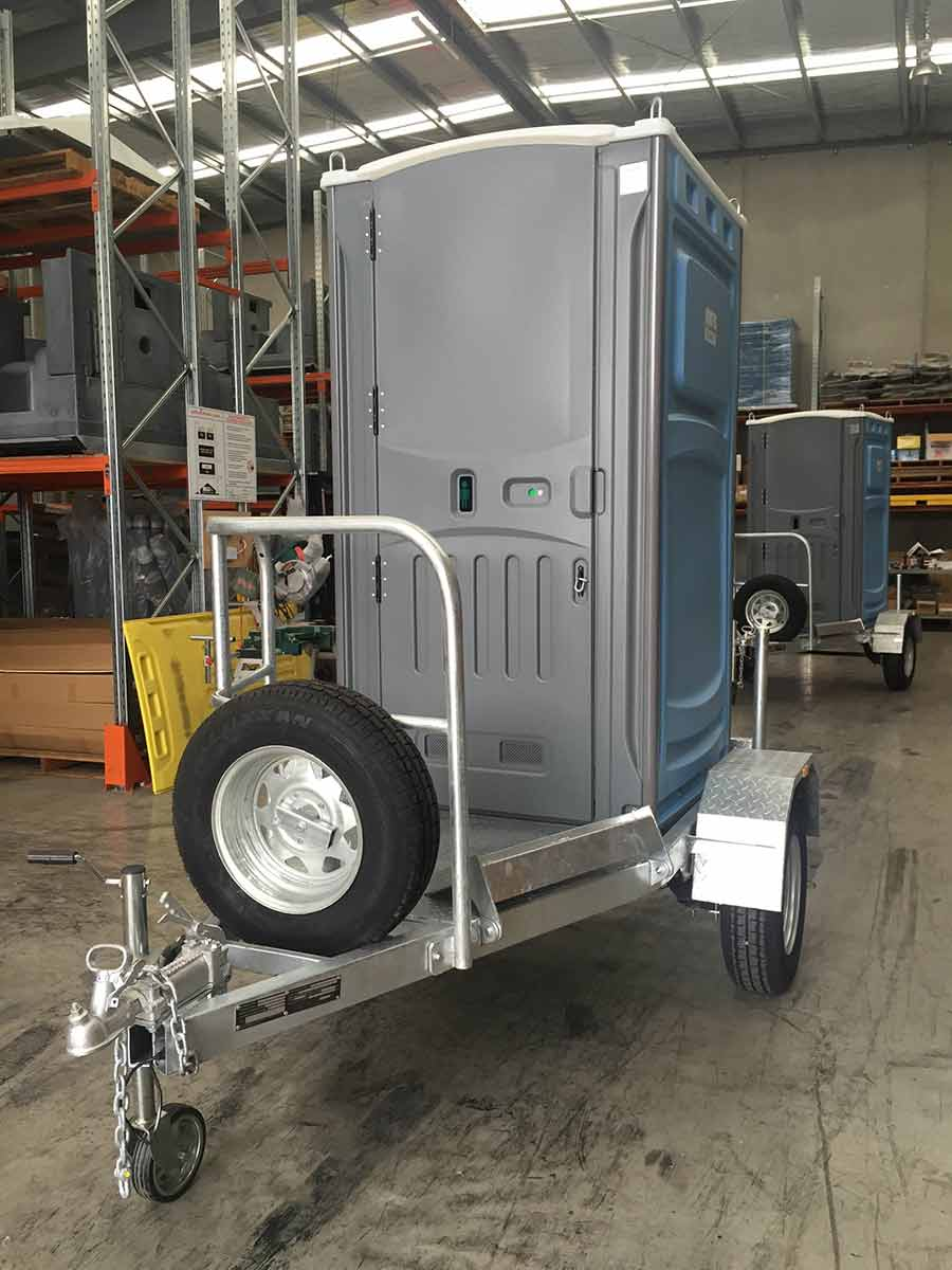 septicleen single trailer with mobile unit