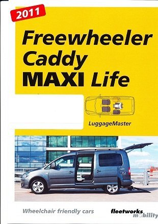 Cover page for maxi lite brochure