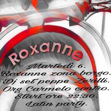 ROXANNE PUB CATERING APERITIVO - LOGO