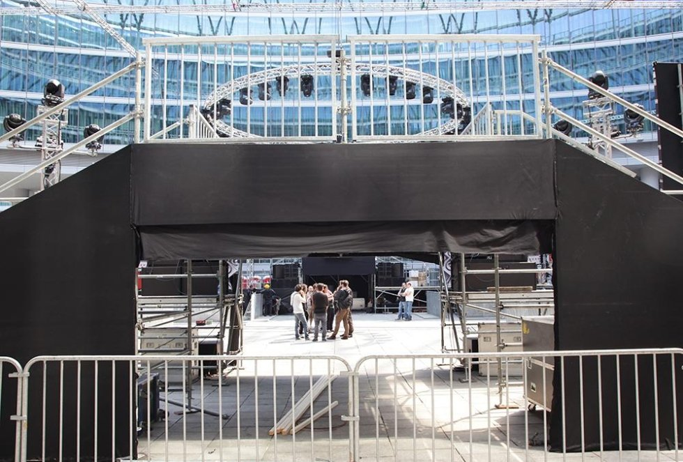 Palco frontale