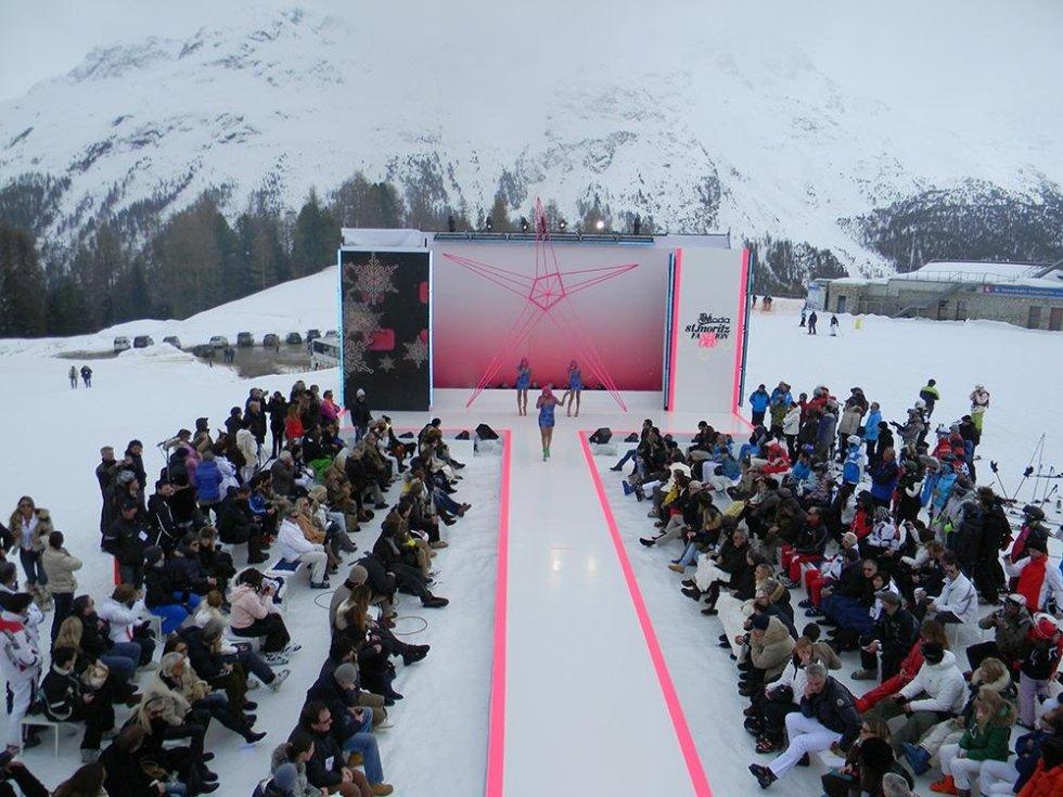 St-Moritz-Sfilata in quota