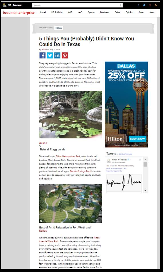 Online Marketing Services Beaumont, TX