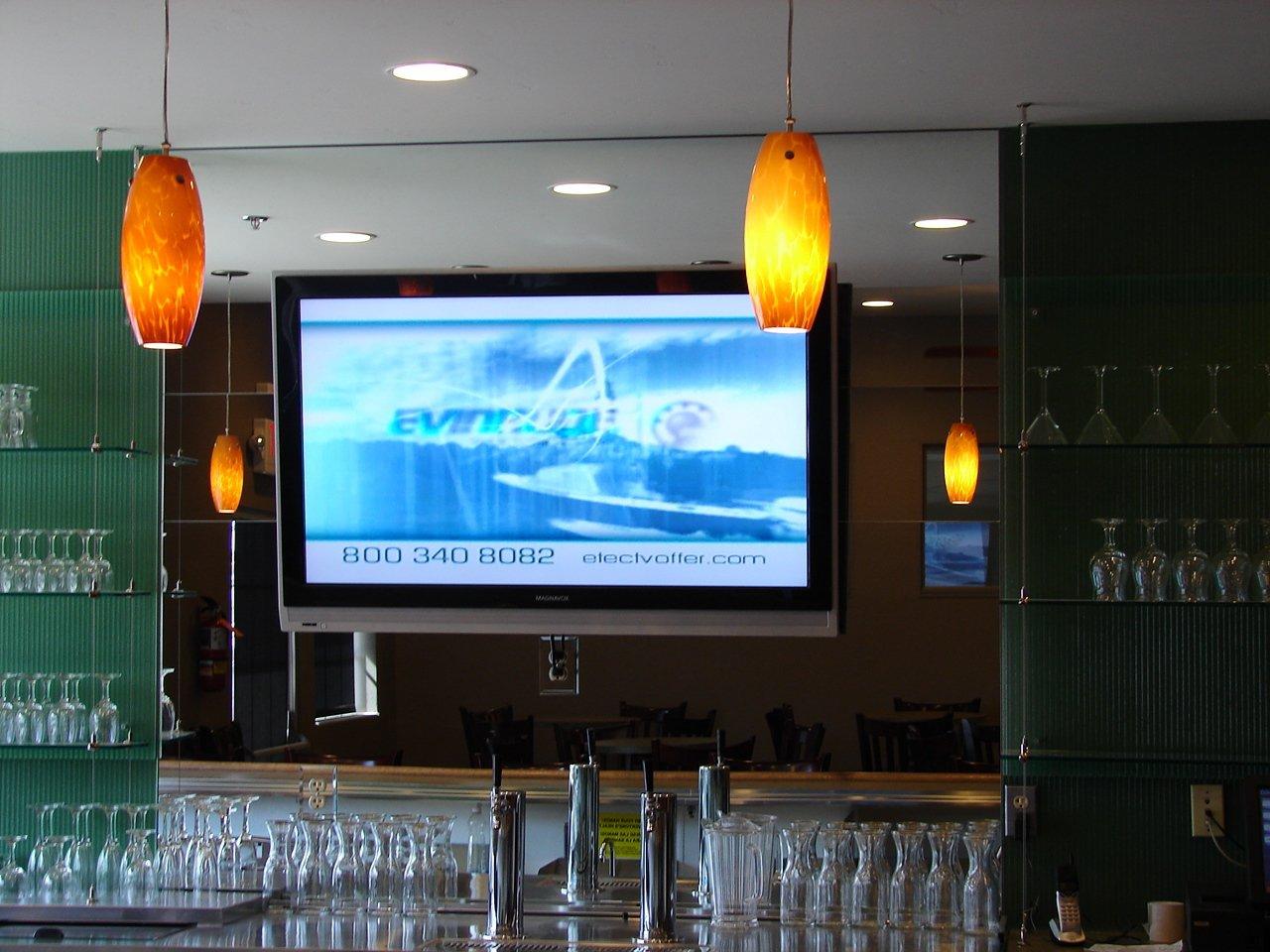 Custom glass fabrication installed at the store in Lake Havasu City