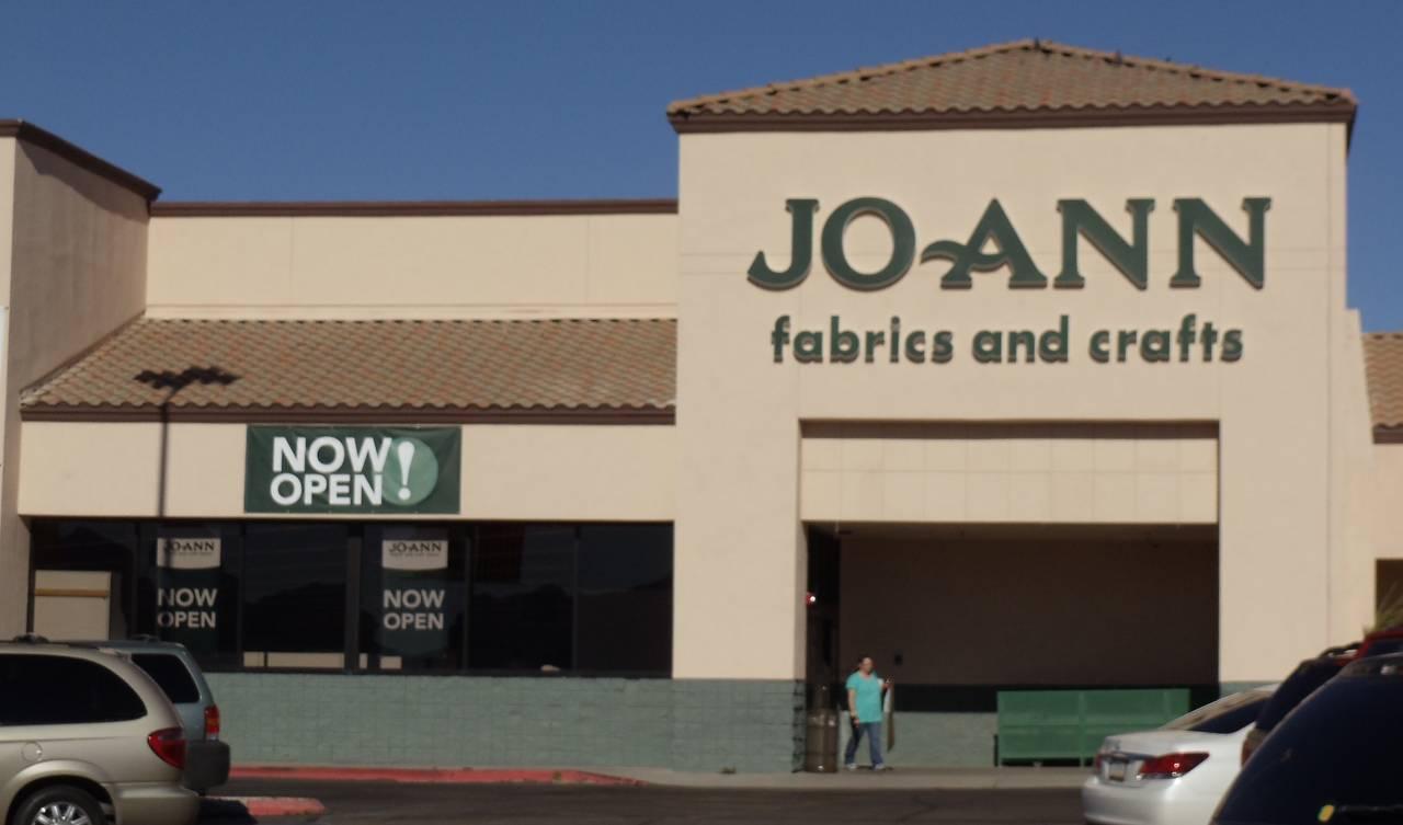 Experts installed custom fabrication at Joann in Lake Havasu City