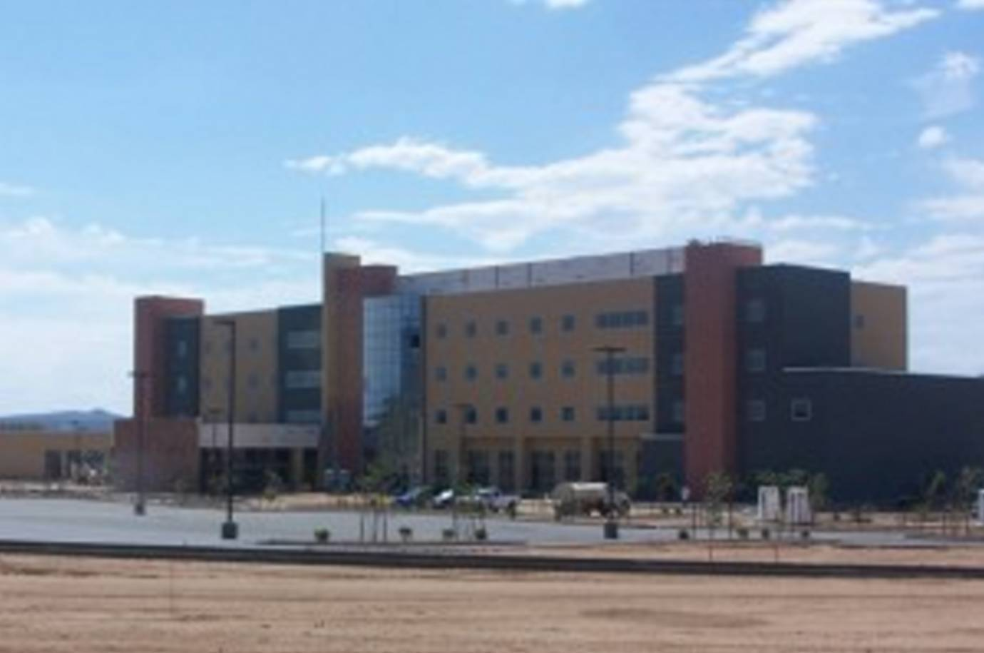 Experts installed custom glass fabrication at the commercial building in Lake Havasu City