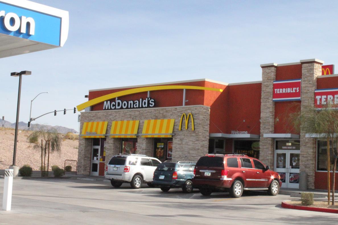 Experts installed custom glass at McDonald in Lake Havasu City