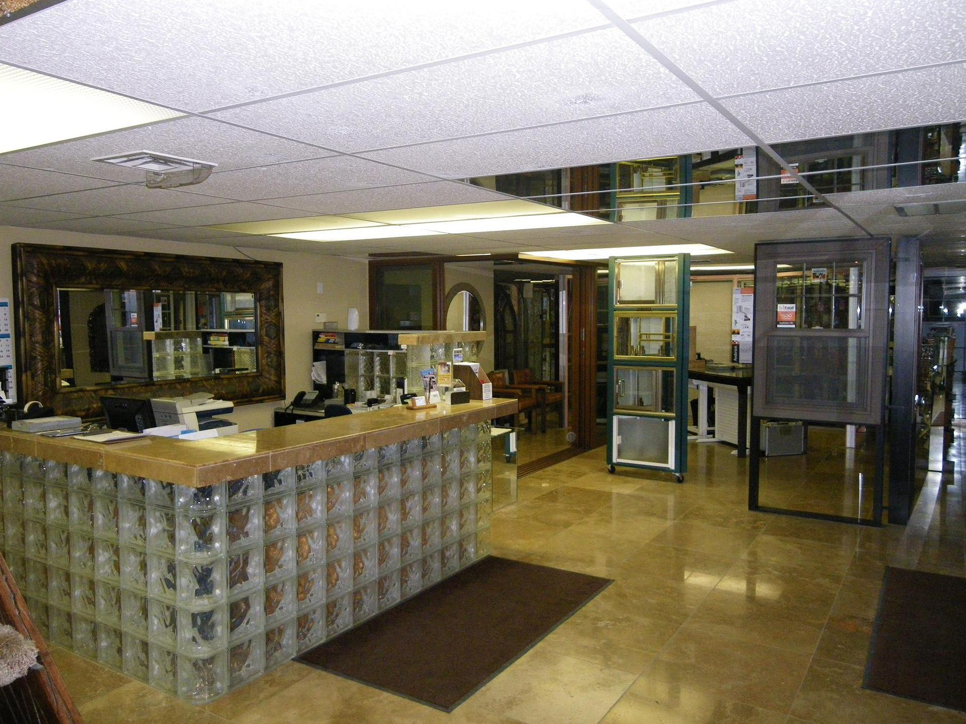 Custom fabrication installed in  commercial building in Lake Havasu City