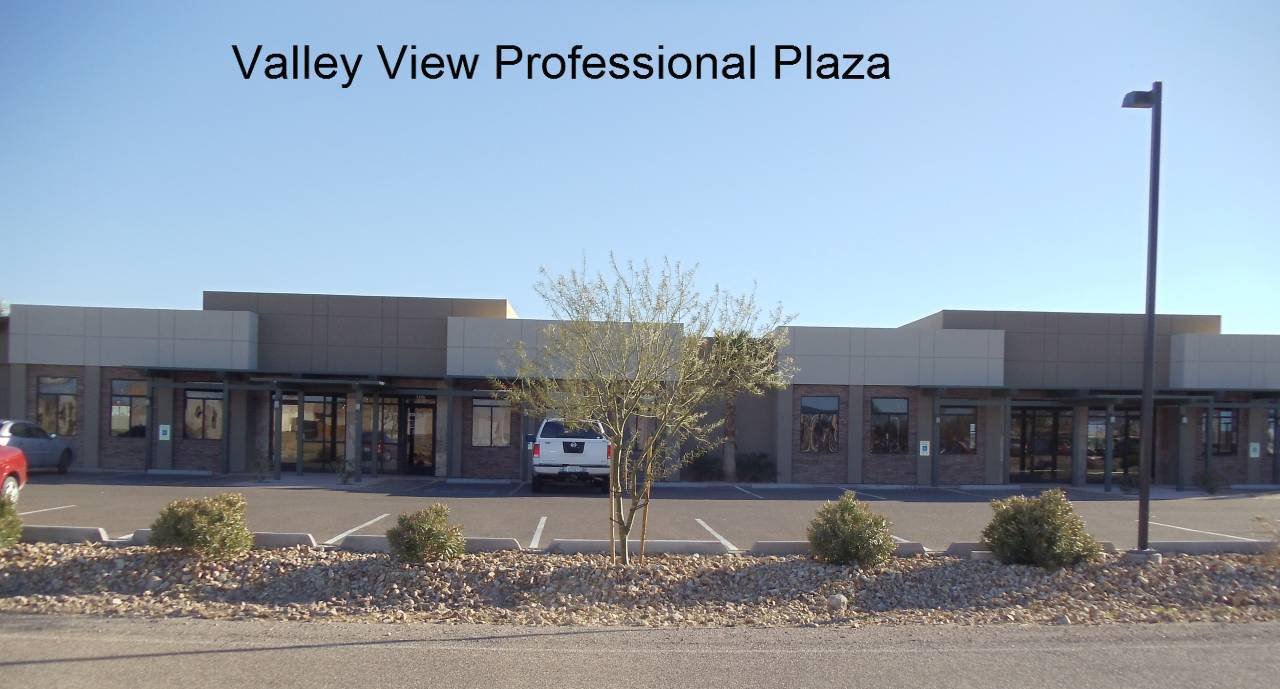 Valley view professional plaza installed glasses in Lake Havasu City